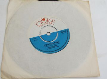 "Boris Gardner ELIZABETHAN REGGAE - Byron Lee & The Dragonaires SOUL SERENADE 1969 UK 7"" VG AUDIO"